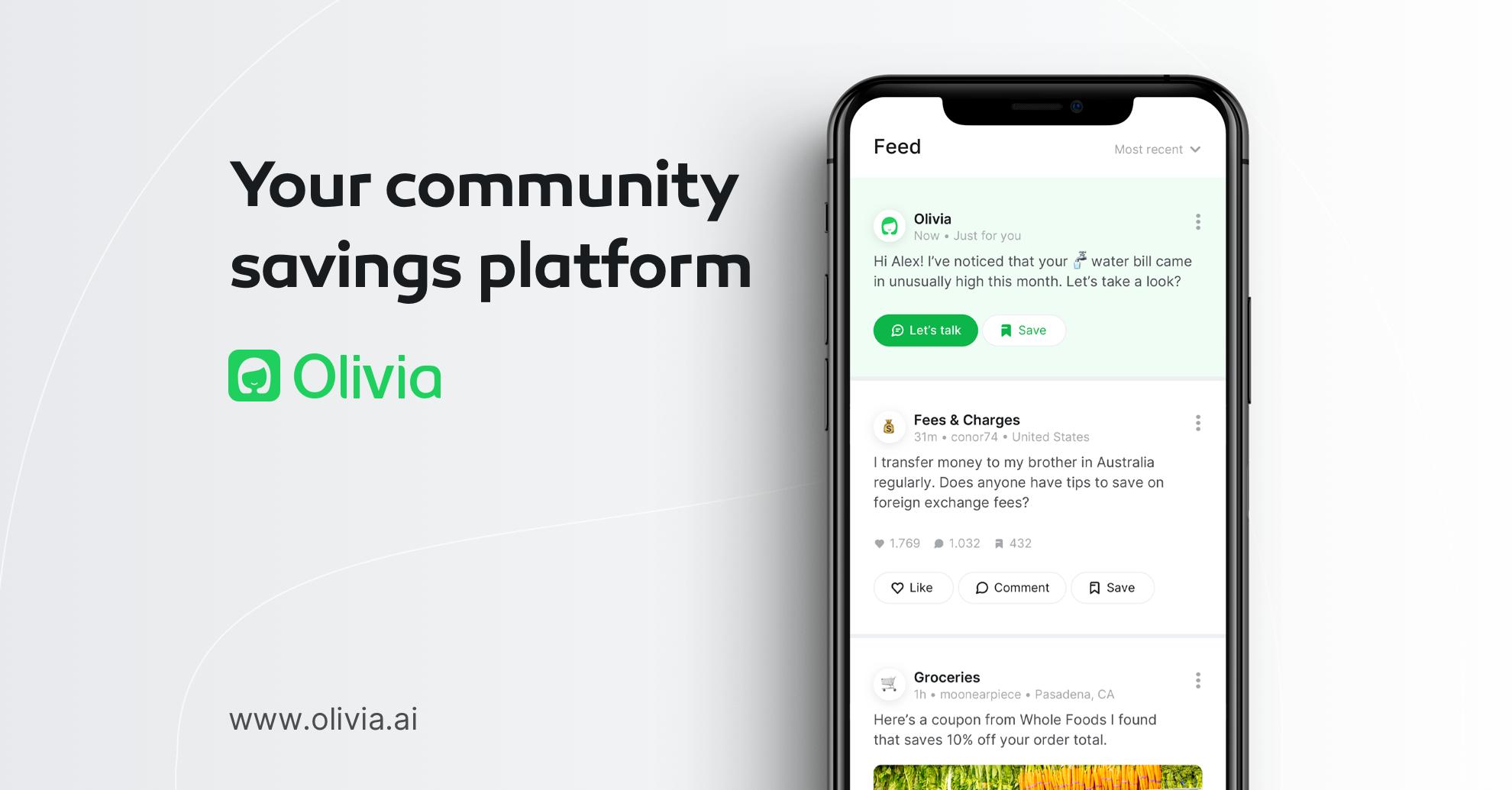 olivia  apps like digit alternatives